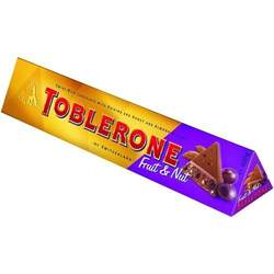 TOBLERONE FRUIT AND NUT